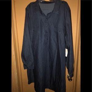 Women's Denim Shirt Dress